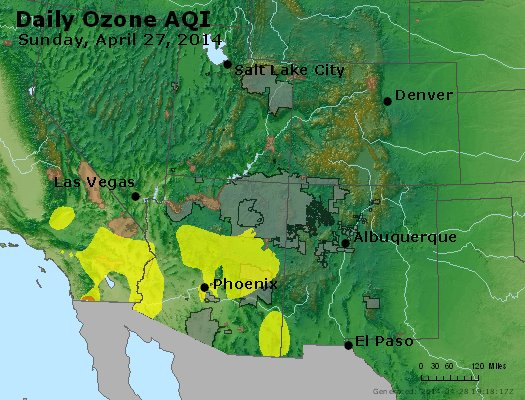 Peak Ozone (8-hour) - http://files.airnowtech.org/airnow/2014/20140427/peak_o3_co_ut_az_nm.jpg