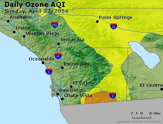 Peak Ozone (8-hour) - http://files.airnowtech.org/airnow/2014/20140427/peak_o3_sandiego_ca.jpg
