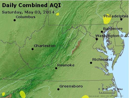 Peak AQI - http://files.airnowtech.org/airnow/2014/20140503/peak_aqi_va_wv_md_de_dc.jpg