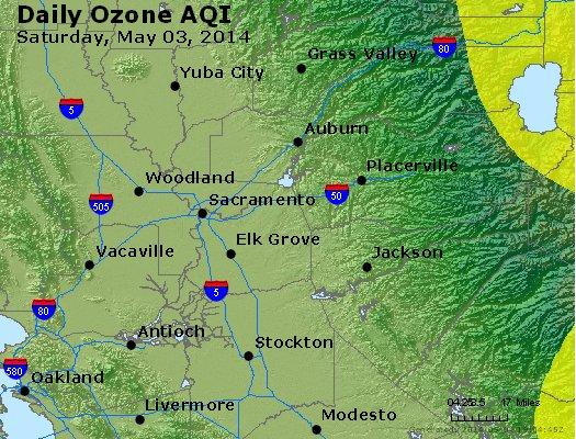 Peak Ozone (8-hour) - http://files.airnowtech.org/airnow/2014/20140503/peak_o3_sacramento_ca.jpg