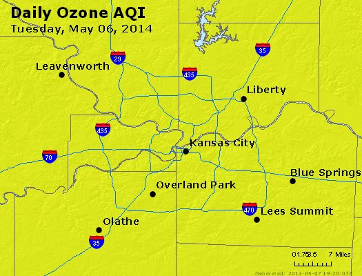 Peak Ozone (8-hour) - http://files.airnowtech.org/airnow/2014/20140506/peak_o3_kansascity_mo.jpg