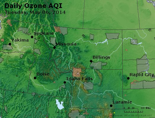 Peak Ozone (8-hour) - http://files.airnowtech.org/airnow/2014/20140506/peak_o3_mt_id_wy.jpg