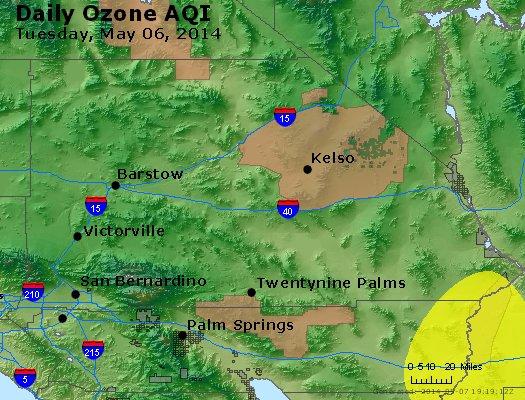 Peak Ozone (8-hour) - http://files.airnowtech.org/airnow/2014/20140506/peak_o3_sanbernardino_ca.jpg