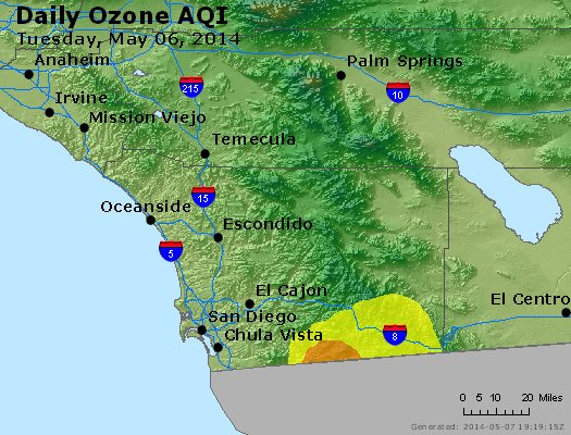 Peak Ozone (8-hour) - http://files.airnowtech.org/airnow/2014/20140506/peak_o3_sandiego_ca.jpg