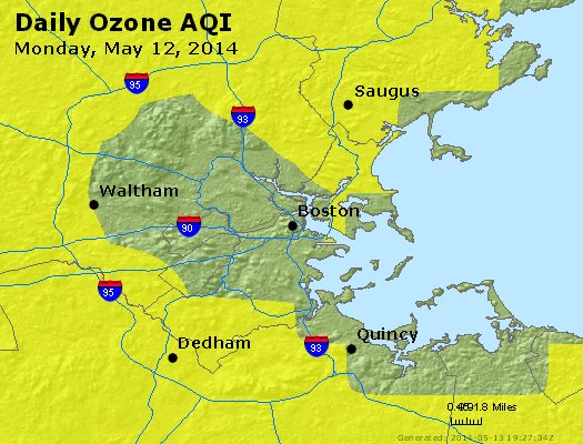 Peak Ozone (8-hour) - http://files.airnowtech.org/airnow/2014/20140512/peak_o3_boston_ma.jpg