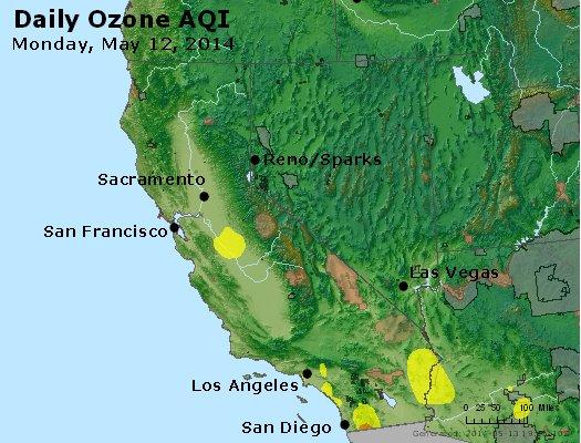 Peak Ozone (8-hour) - http://files.airnowtech.org/airnow/2014/20140512/peak_o3_ca_nv.jpg