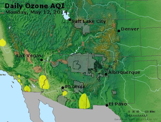 Peak Ozone (8-hour) - http://files.airnowtech.org/airnow/2014/20140512/peak_o3_co_ut_az_nm.jpg