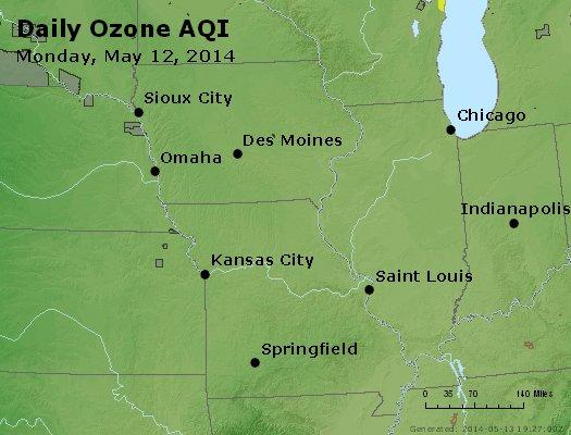 Peak Ozone (8-hour) - http://files.airnowtech.org/airnow/2014/20140512/peak_o3_ia_il_mo.jpg