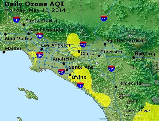 Peak Ozone (8-hour) - http://files.airnowtech.org/airnow/2014/20140512/peak_o3_losangeles_ca.jpg