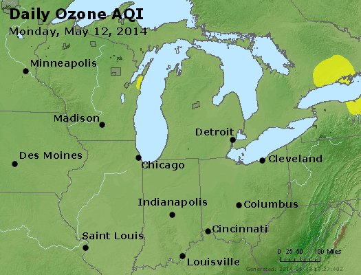 Peak Ozone (8-hour) - http://files.airnowtech.org/airnow/2014/20140512/peak_o3_mi_in_oh.jpg