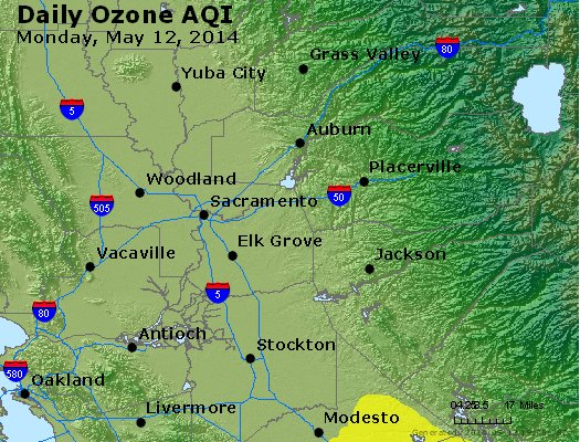 Peak Ozone (8-hour) - http://files.airnowtech.org/airnow/2014/20140512/peak_o3_sacramento_ca.jpg