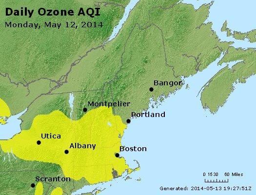 Peak Ozone (8-hour) - http://files.airnowtech.org/airnow/2014/20140512/peak_o3_vt_nh_ma_ct_ri_me.jpg