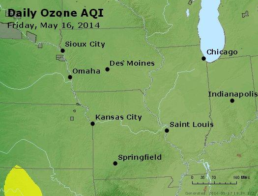 Peak Ozone (8-hour) - http://files.airnowtech.org/airnow/2014/20140516/peak_o3_ia_il_mo.jpg