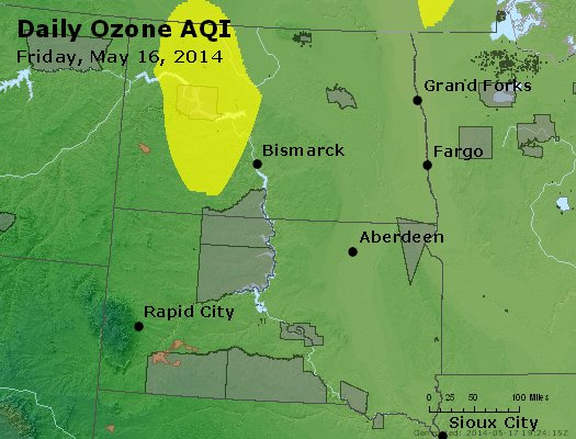 Peak Ozone (8-hour) - http://files.airnowtech.org/airnow/2014/20140516/peak_o3_nd_sd.jpg
