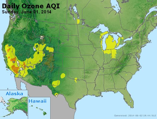 Peak Ozone (8-hour) - http://files.airnowtech.org/airnow/2014/20140601/peak_o3_usa.jpg