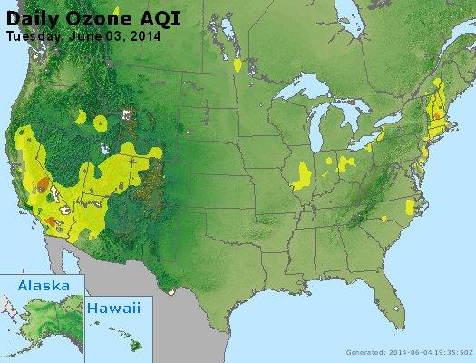 Peak Ozone (8-hour) - http://files.airnowtech.org/airnow/2014/20140603/peak_o3_usa.jpg