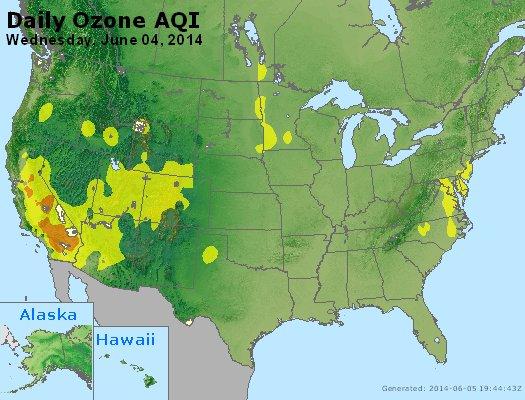 Peak Ozone (8-hour) - http://files.airnowtech.org/airnow/2014/20140604/peak_o3_usa.jpg