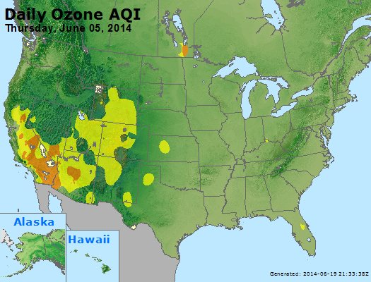 Peak Ozone (8-hour) - http://files.airnowtech.org/airnow/2014/20140605/peak_o3_usa.jpg