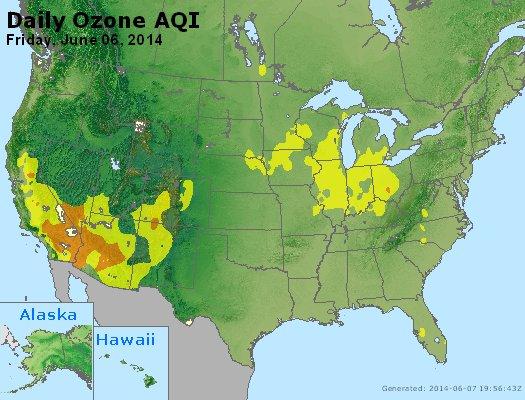 Peak Ozone (8-hour) - http://files.airnowtech.org/airnow/2014/20140606/peak_o3_usa.jpg