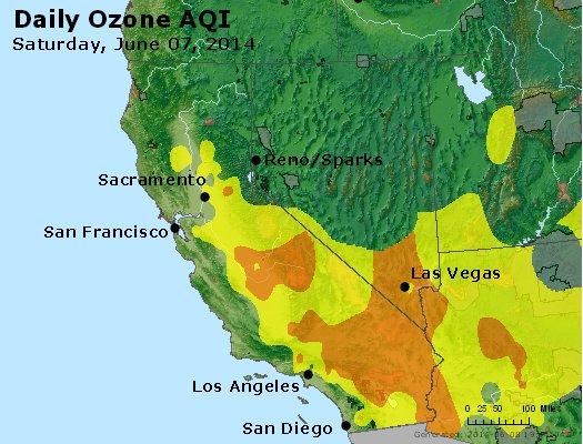 Peak Ozone (8-hour) - http://files.airnowtech.org/airnow/2014/20140607/peak_o3_ca_nv.jpg