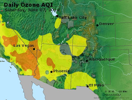 Peak Ozone (8-hour) - http://files.airnowtech.org/airnow/2014/20140607/peak_o3_co_ut_az_nm.jpg