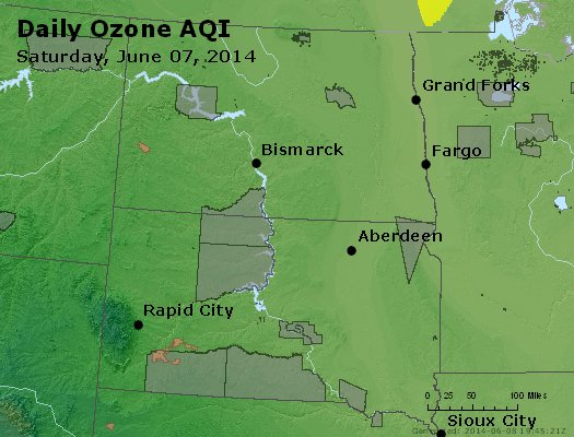 Peak Ozone (8-hour) - http://files.airnowtech.org/airnow/2014/20140607/peak_o3_nd_sd.jpg