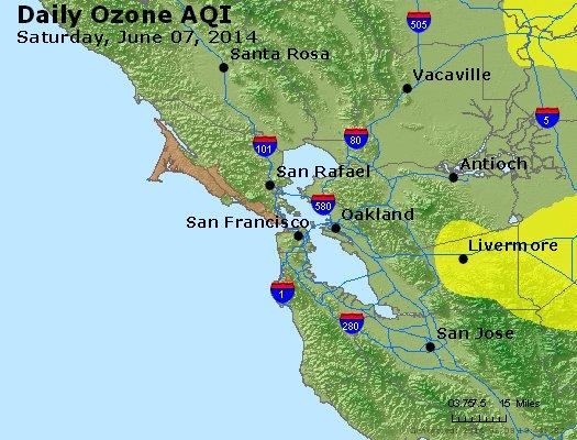 Peak Ozone (8-hour) - http://files.airnowtech.org/airnow/2014/20140607/peak_o3_sanfrancisco_ca.jpg