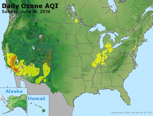 Peak Ozone (8-hour) - http://files.airnowtech.org/airnow/2014/20140608/peak_o3_usa.jpg