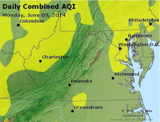 Peak AQI - http://files.airnowtech.org/airnow/2014/20140609/peak_aqi_va_wv_md_de_dc.jpg