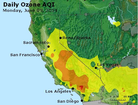 Peak Ozone (8-hour) - http://files.airnowtech.org/airnow/2014/20140609/peak_o3_ca_nv.jpg