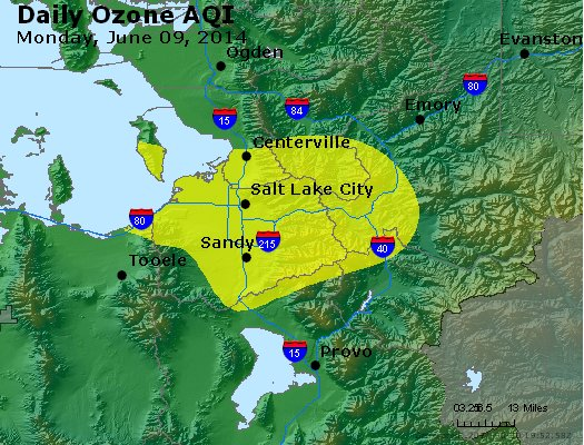 Peak Ozone (8-hour) - http://files.airnowtech.org/airnow/2014/20140609/peak_o3_saltlakecity_ut.jpg