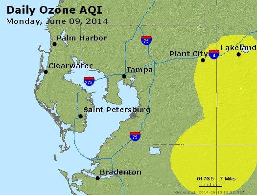Peak Ozone (8-hour) - http://files.airnowtech.org/airnow/2014/20140609/peak_o3_tampa_fl.jpg