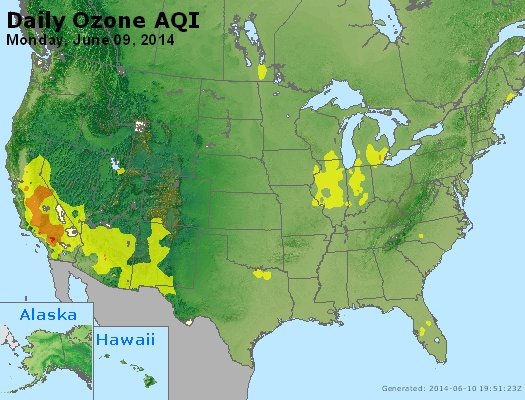 Peak Ozone (8-hour) - http://files.airnowtech.org/airnow/2014/20140609/peak_o3_usa.jpg