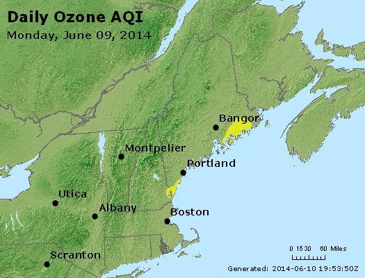 Peak Ozone (8-hour) - http://files.airnowtech.org/airnow/2014/20140609/peak_o3_vt_nh_ma_ct_ri_me.jpg