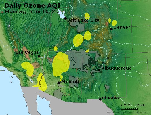 Peak Ozone (8-hour) - http://files.airnowtech.org/airnow/2014/20140616/peak_o3_co_ut_az_nm.jpg