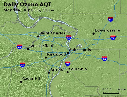Peak Ozone (8-hour) - http://files.airnowtech.org/airnow/2014/20140616/peak_o3_stlouis_mo.jpg