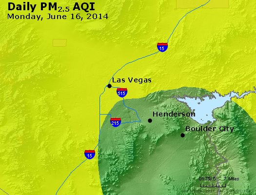 Peak Particles PM<sub>2.5</sub> (24-hour) - http://files.airnowtech.org/airnow/2014/20140616/peak_pm25_lasvegas_nv.jpg
