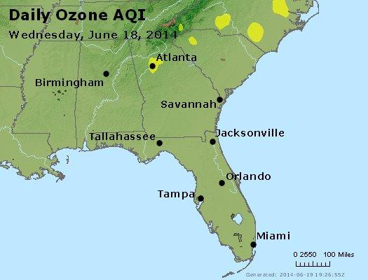 Peak Ozone (8-hour) - http://files.airnowtech.org/airnow/2014/20140618/peak_o3_al_ga_fl.jpg