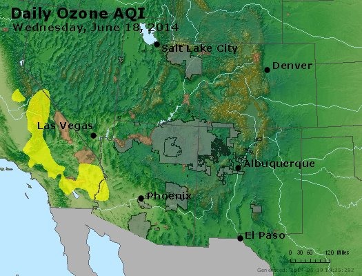 Peak Ozone (8-hour) - http://files.airnowtech.org/airnow/2014/20140618/peak_o3_co_ut_az_nm.jpg