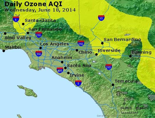 Peak Ozone (8-hour) - http://files.airnowtech.org/airnow/2014/20140618/peak_o3_losangeles_ca.jpg