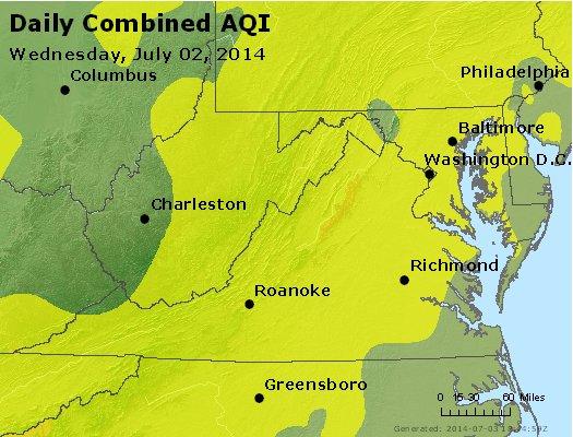 Peak AQI - http://files.airnowtech.org/airnow/2014/20140702/peak_aqi_va_wv_md_de_dc.jpg