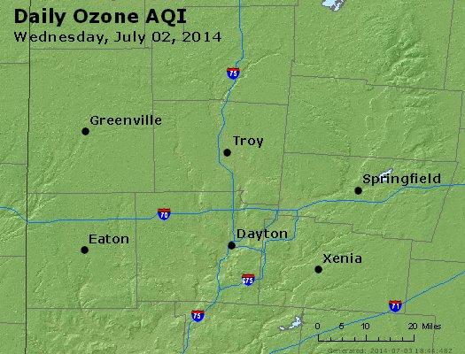 Peak Ozone (8-hour) - http://files.airnowtech.org/airnow/2014/20140702/peak_o3_dayton_oh.jpg