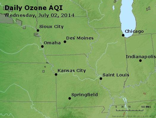 Peak Ozone (8-hour) - http://files.airnowtech.org/airnow/2014/20140702/peak_o3_ia_il_mo.jpg