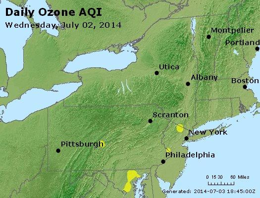 Peak Ozone (8-hour) - http://files.airnowtech.org/airnow/2014/20140702/peak_o3_ny_pa_nj.jpg