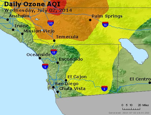 Peak Ozone (8-hour) - http://files.airnowtech.org/airnow/2014/20140702/peak_o3_sandiego_ca.jpg