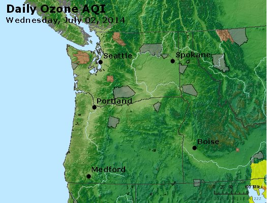 Peak Ozone (8-hour) - http://files.airnowtech.org/airnow/2014/20140702/peak_o3_wa_or.jpg