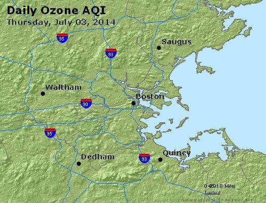 Peak Ozone (8-hour) - http://files.airnowtech.org/airnow/2014/20140703/peak_o3_boston_ma.jpg