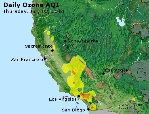 Peak Ozone (8-hour) - http://files.airnowtech.org/airnow/2014/20140703/peak_o3_ca_nv.jpg