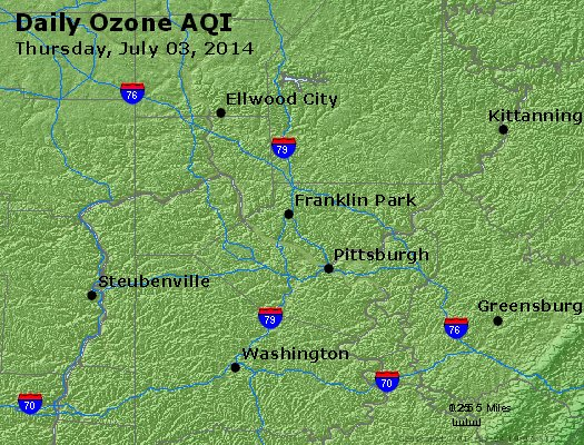 Peak Ozone (8-hour) - http://files.airnowtech.org/airnow/2014/20140703/peak_o3_pittsburgh_pa.jpg
