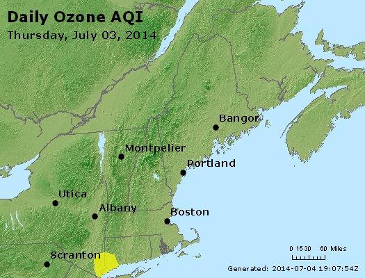 Peak Ozone (8-hour) - http://files.airnowtech.org/airnow/2014/20140703/peak_o3_vt_nh_ma_ct_ri_me.jpg